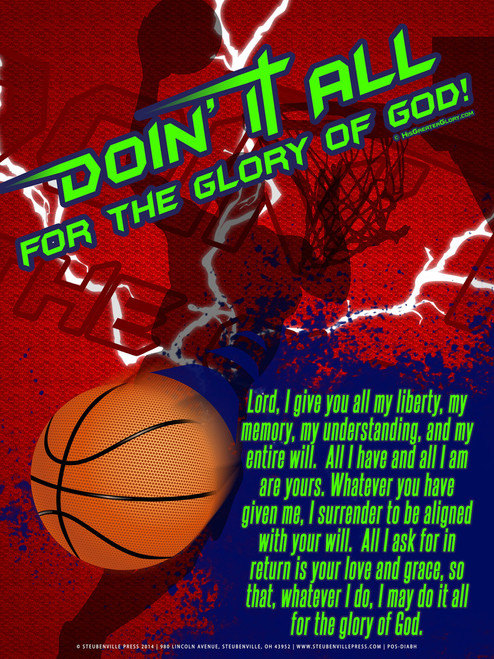 """Doing It All"" Basketball Poster"