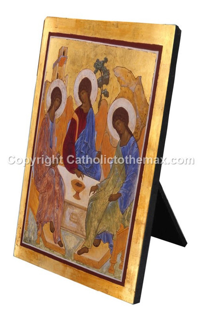 The Holy Trinity Icon Desk Plaque
