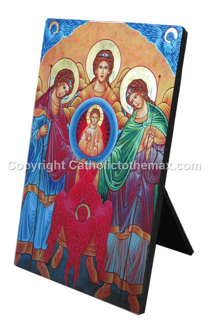 The Holy Synaxis Icon Desk Plaque
