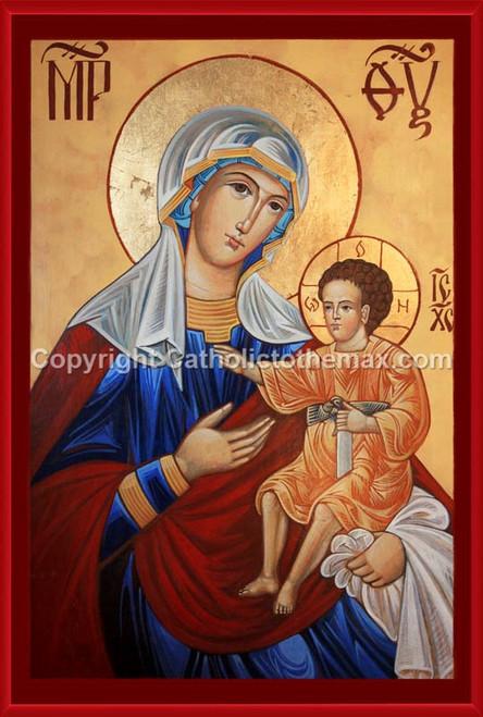 The Virgin of Hodegetria Icon Wall Plaque