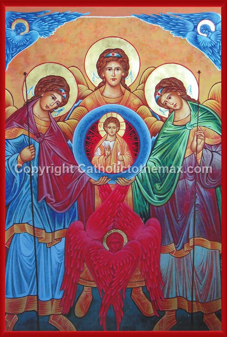 The Holy Synaxis Icon Wall Plaque
