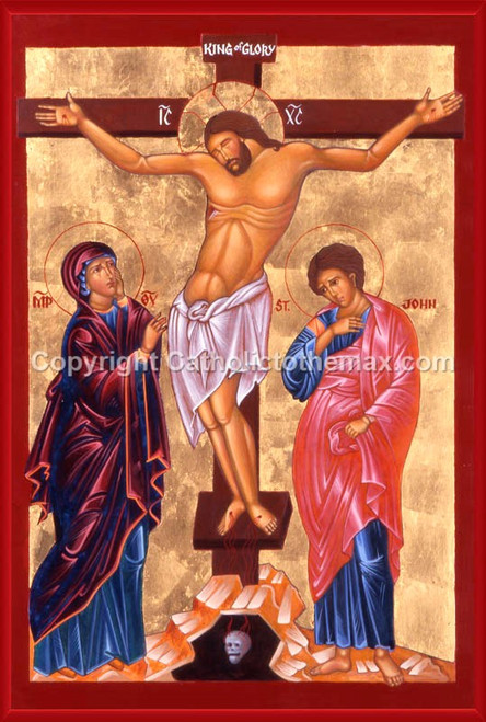 The Crucifixion of the Lord Icon Wall Plaque