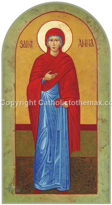 St. Anna Icon Wall Plaque