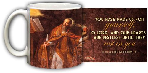 St. Augustine Graphic Mug
