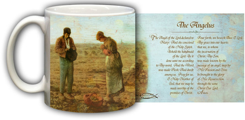 The Angelus by Millet Mug