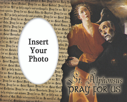 St. Alphonsus Photo Frame