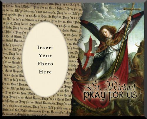 St. Michael 3 Photo Frame