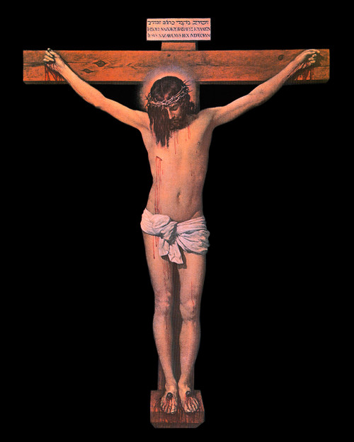 Crucifixion by Velazquez Unframed  Print