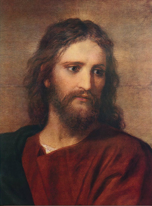 Christ at 33 by Hoffmann - Print