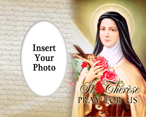 St. Therese of Lisieux Photo Frame