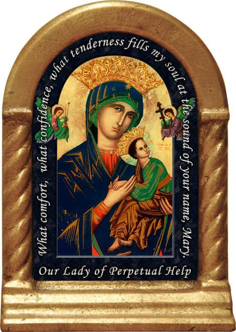 Mother of Perpetual Help Prayer Desk Shrine