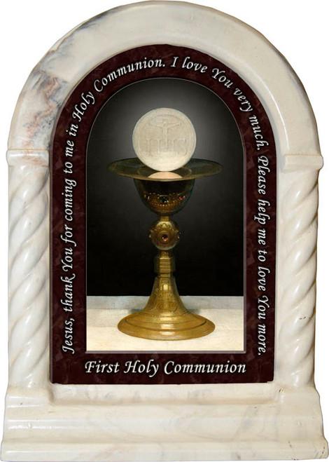 First Communion Prayer Desk Shrine