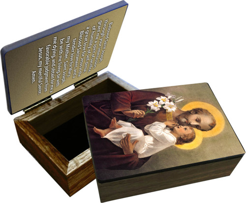St. Joseph (Younger) Keepsake Box