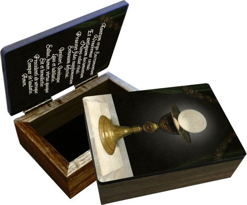Chalice with Host Keepsake Box