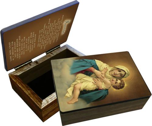 Schoenstatt Madonna Keepsake Box