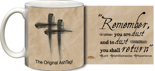 Ash Wednesday Mug (Tan)