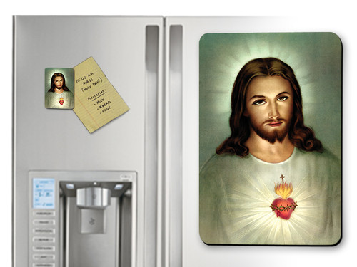 Traditional Sacred Heart of Jesus Magnet