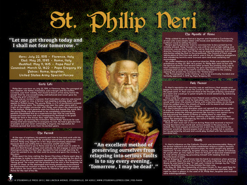 St. Philip Neri Explained Poster