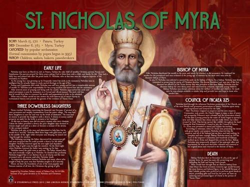 St. Nicholas Explained Poster