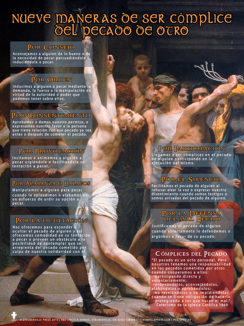 Spanish Nine Ways of Being An Accessory to Another's Sin (Faith Explained) Poster