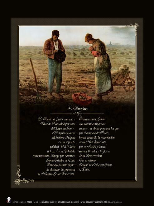 Spanish Angelus Poster