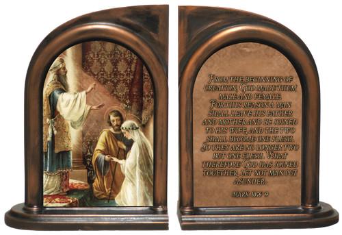 Wedding of Joseph & Mary Bookends