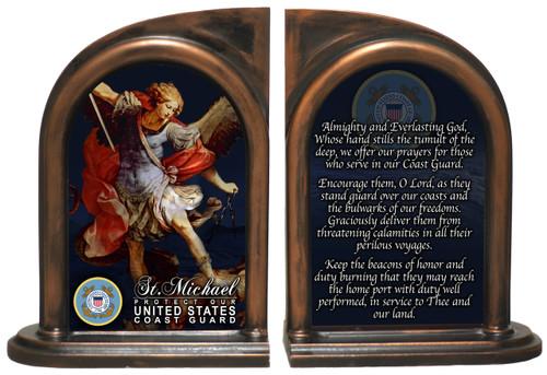 St. Michael Coast Guard II Bookends