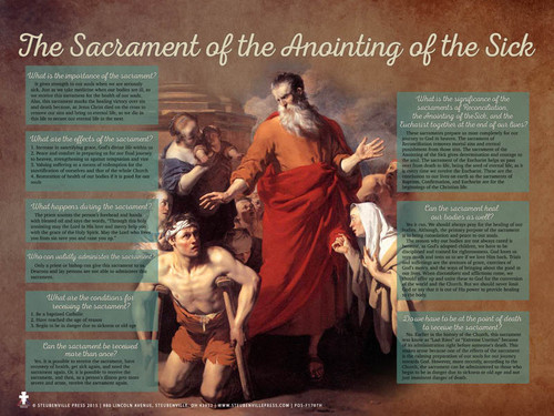 Anointing of the Sick Explained Poster