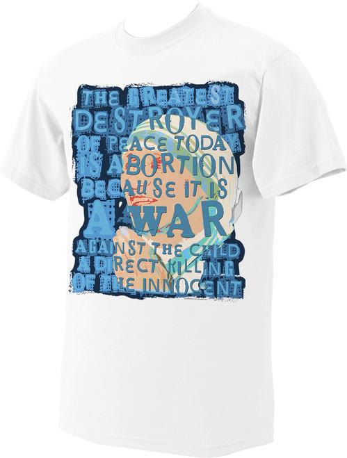 Mother Teresa Quote T-Shirt