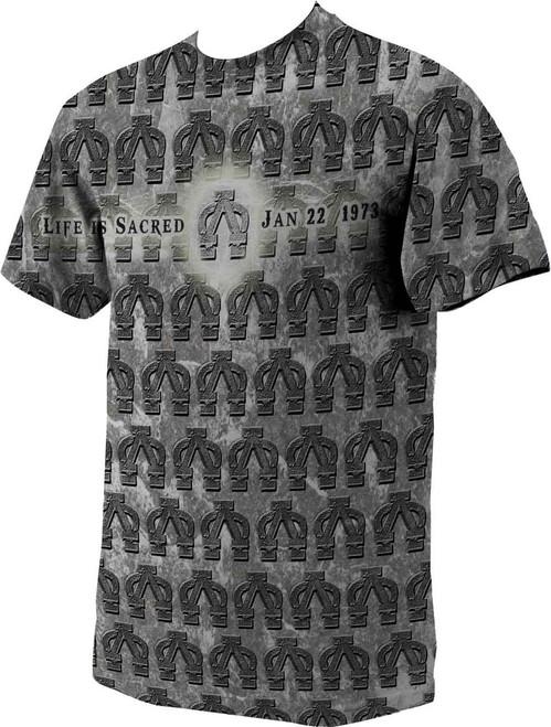 Alpha Omega (Life is Sacred) T-Shirt