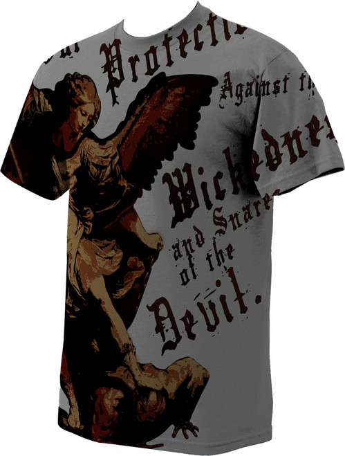 741ad1e5 St. Michael the Archangel Value T-Shirt - Catholic to the Max ...