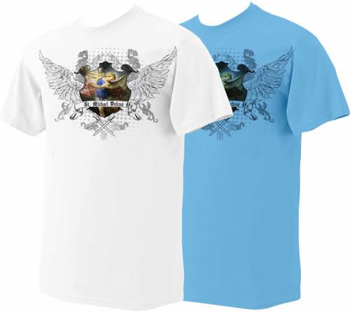 8cfc53d7 St. Michael T-Shirt - Catholic to the Max - Online Catholic Store