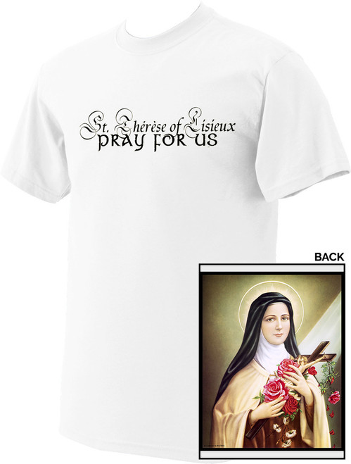 St. Therese of Lisieux Value T-Shirt