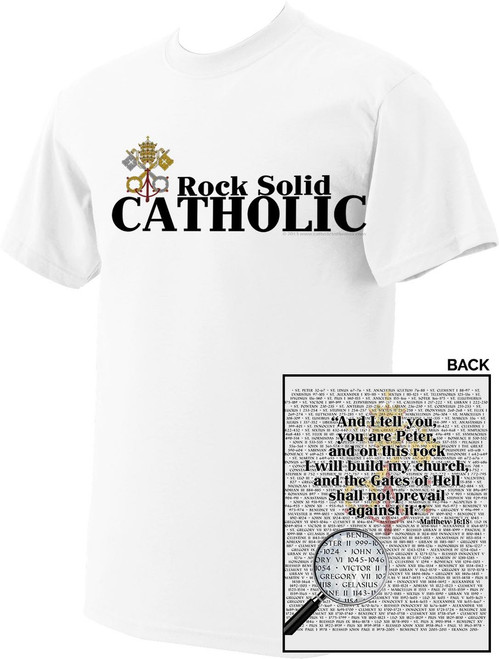 Rock Solid Catholic T-Shirt