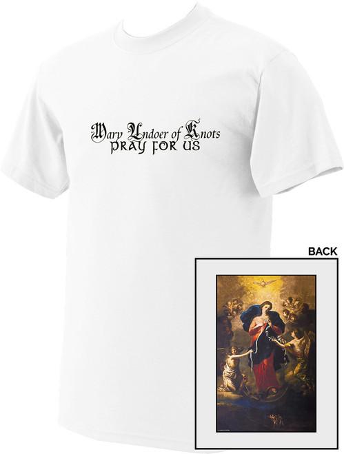 Mary Undoer of Knots Value T-Shirt