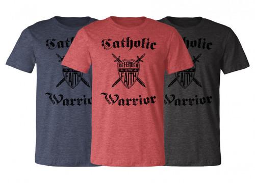 The Catholic Warrior Defender of the Faith T-Shirt