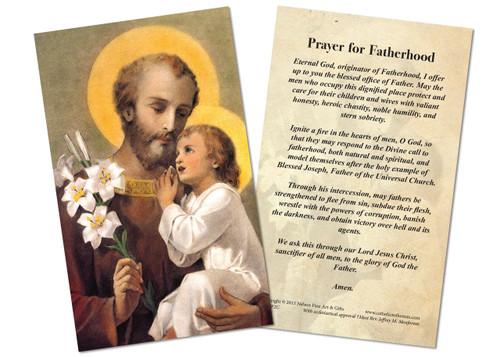 Prayer for Fatherhood