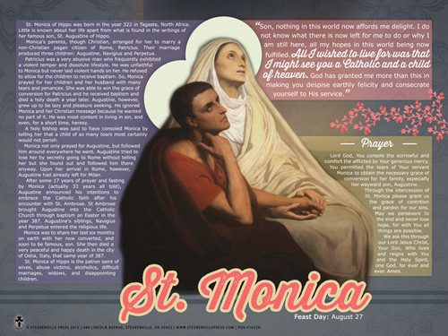 St. Monica Explained Poster
