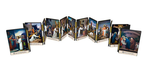 Emmerich Stations of the Cross Hinged Mantle Set