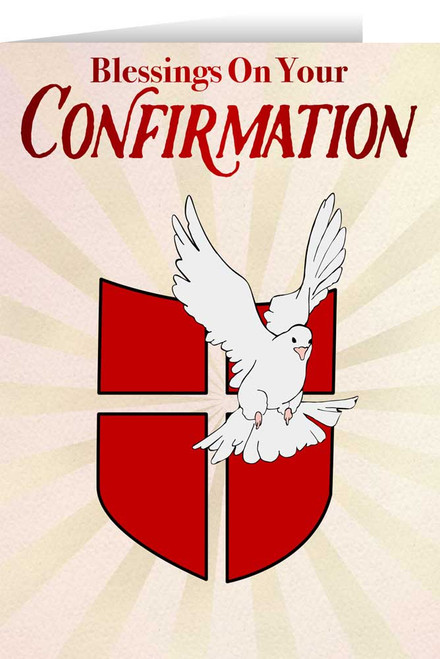 Blessings on Your Confirmation Greeting Card