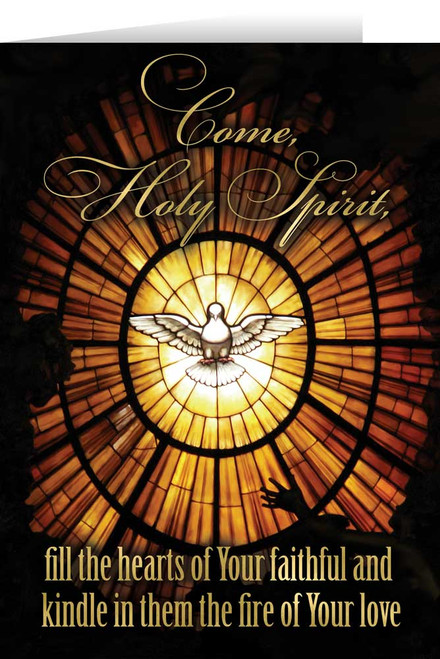 Come Holy Spirit Confirmation Greeting Card