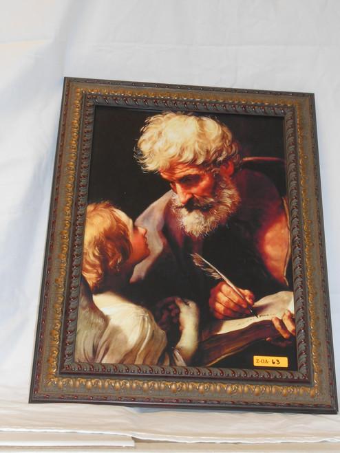 St. Matthew 12x16 Framed Print