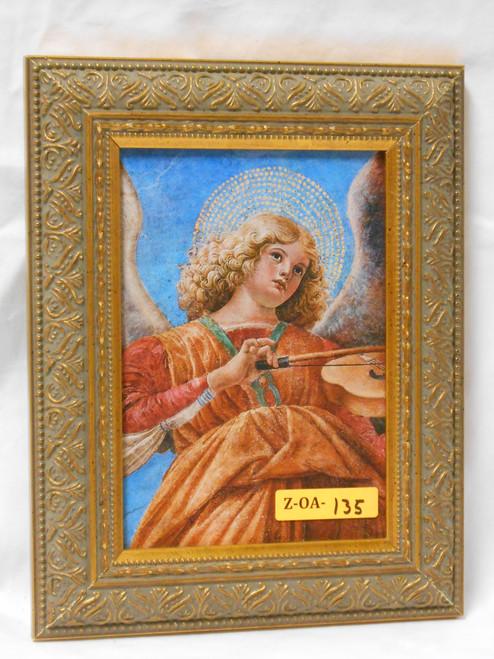 Angel Playing Violin 5x7 Framed Print