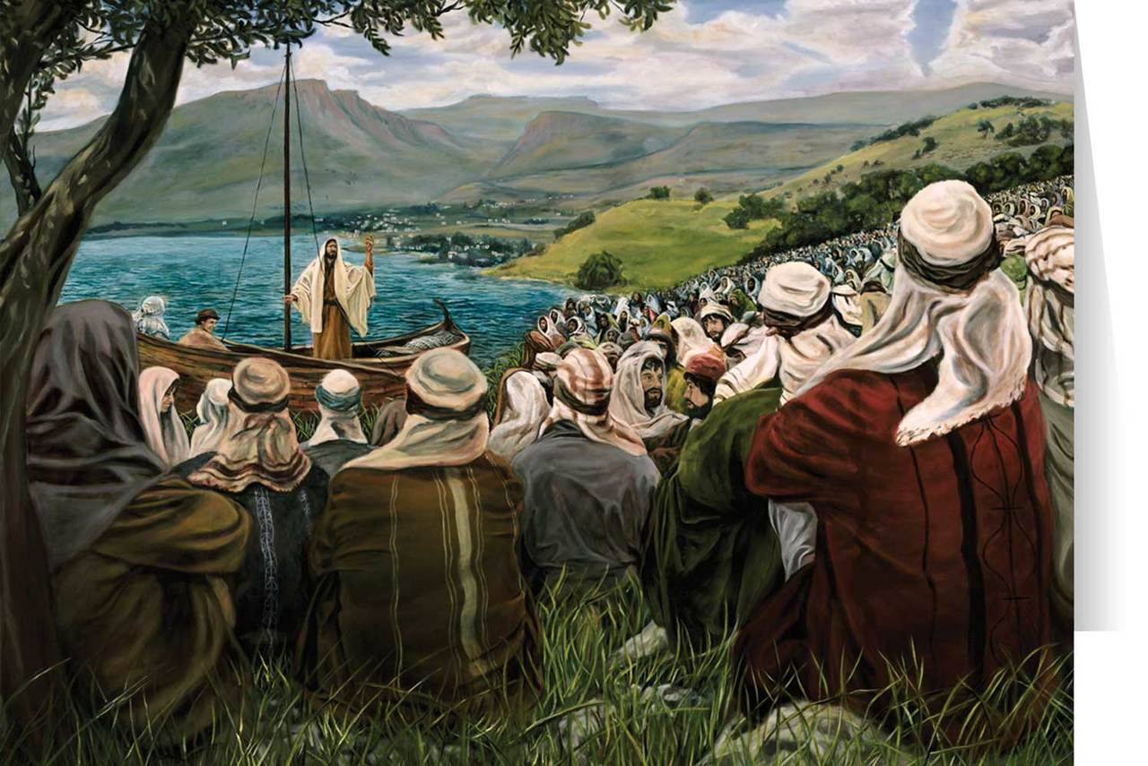 Sermon on the Mount (Jenicke) Greeting Card