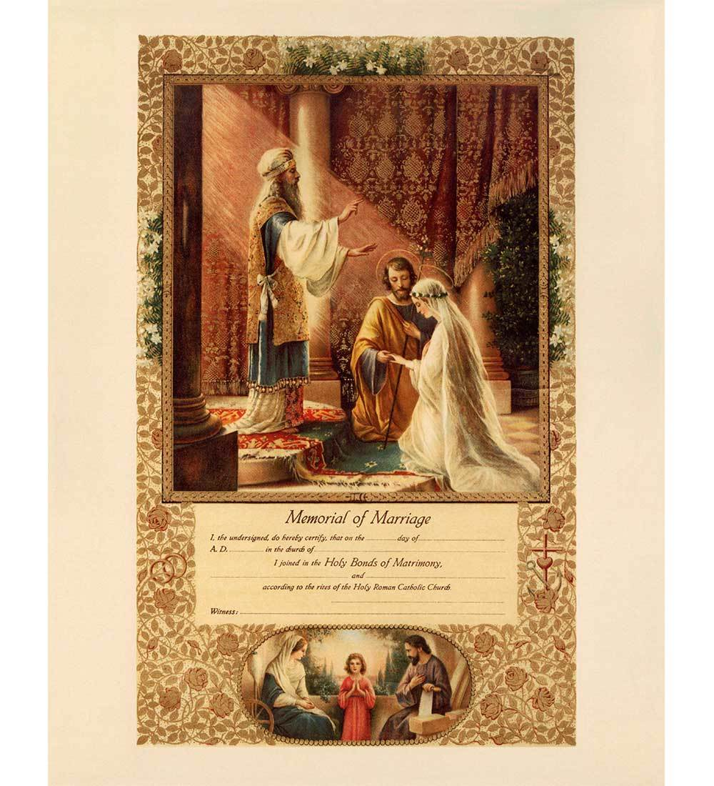 Marriage and Holy Matrimony Gifts