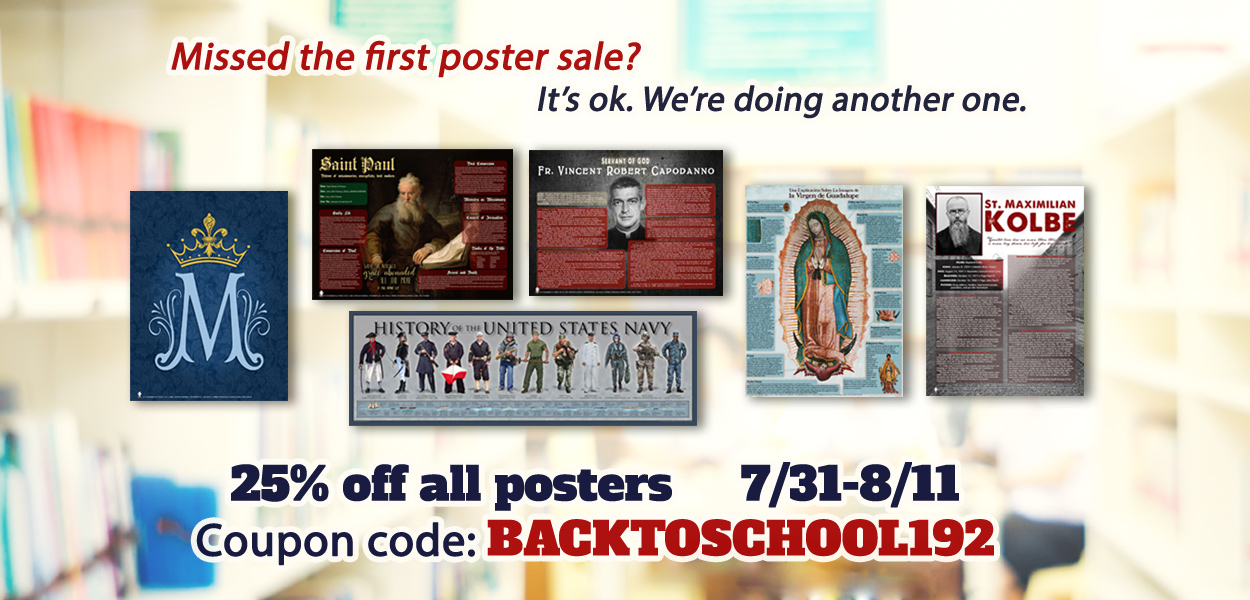The Catholic Store for Catholic T-Shirts, Catholic Posters, Catholic
