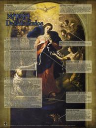 Spanish Mary Undoer Of Knots Explained Poster Catholic To The Max Online Catholic Store