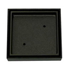 Tile Insert Grate 100mm x 80mm Gun Metal