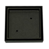 Tile Insert Grate 100mm x 50mm Gun Metal