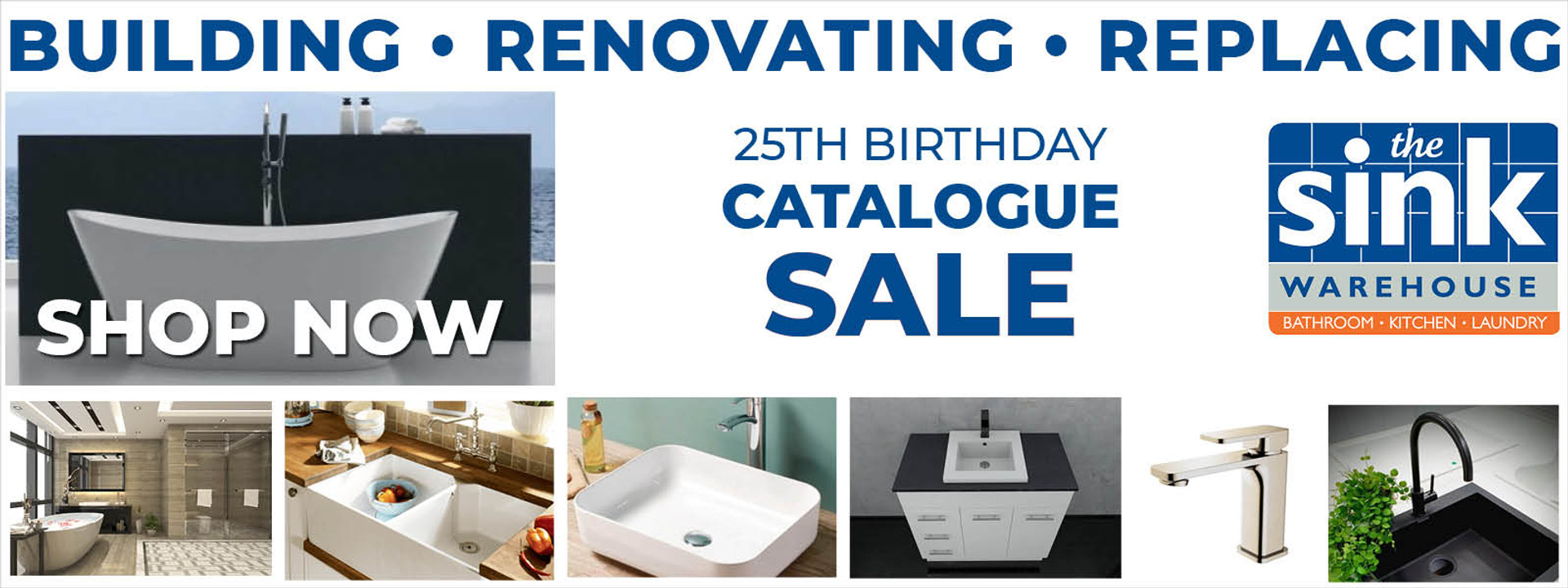 Sink Warehouse Birthday Sale